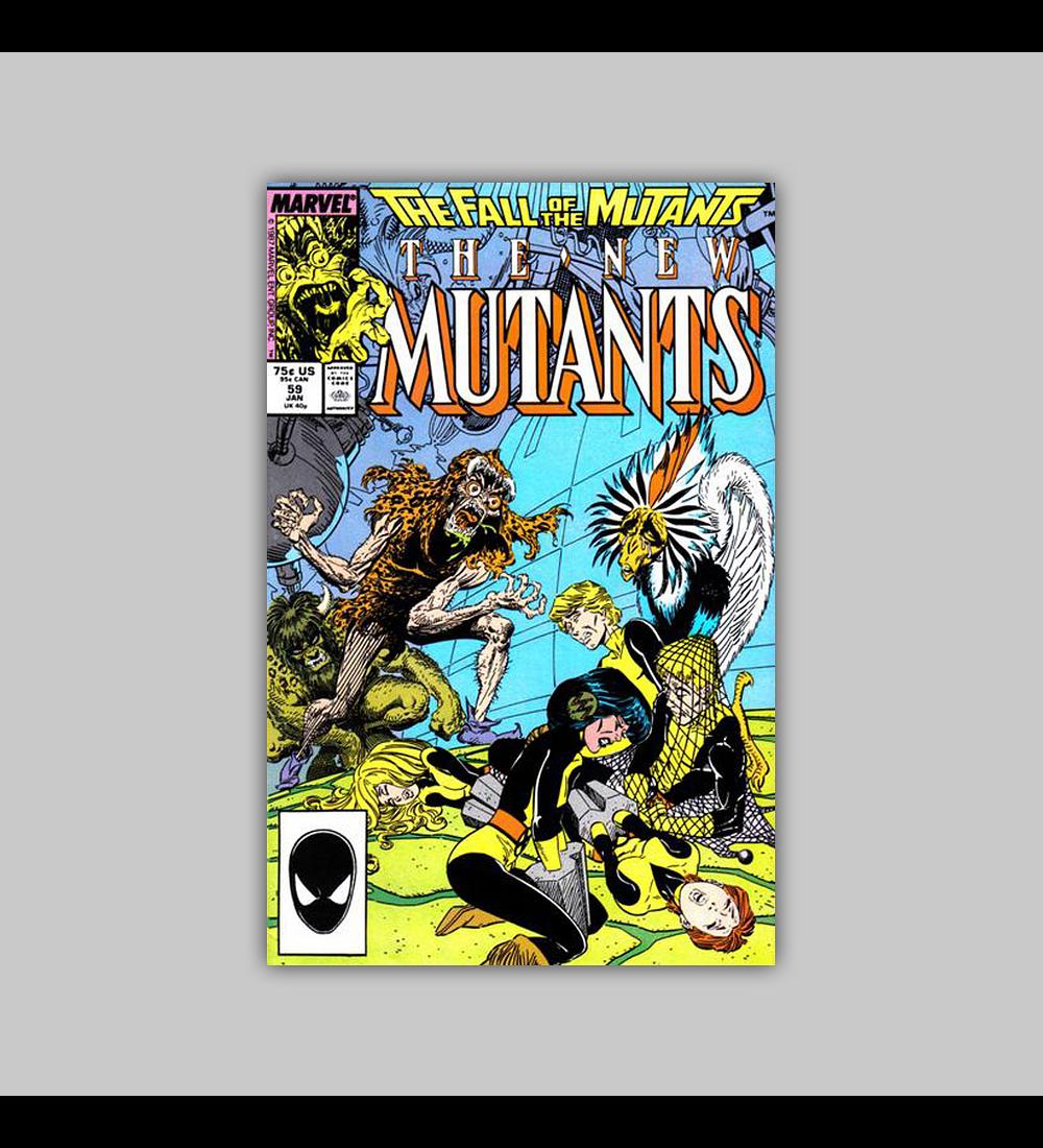 New Mutants 59 1988
