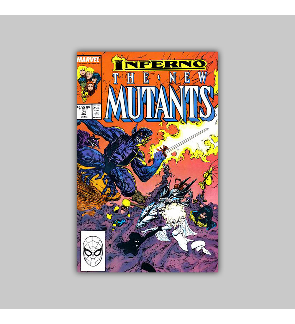 New Mutants 71 1989