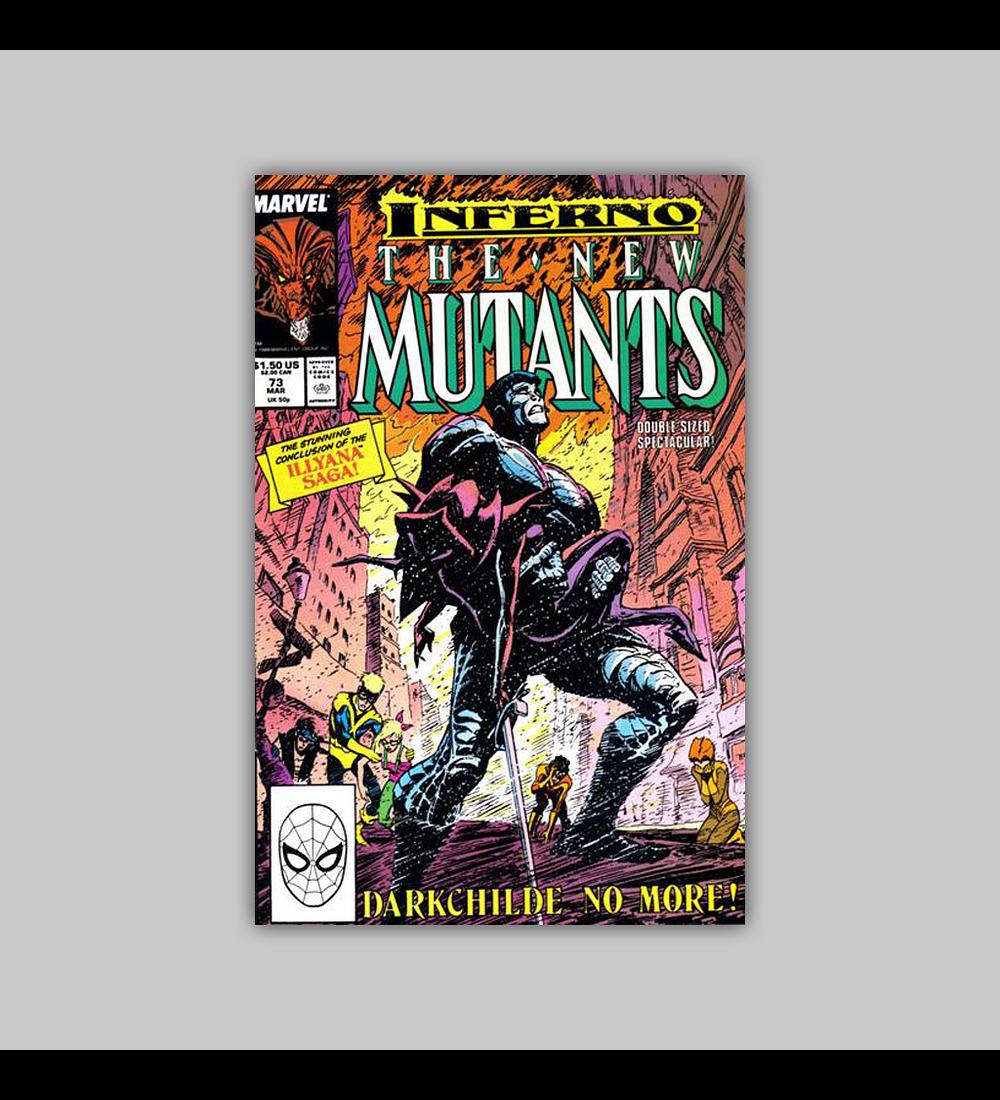 New Mutants 73 1989