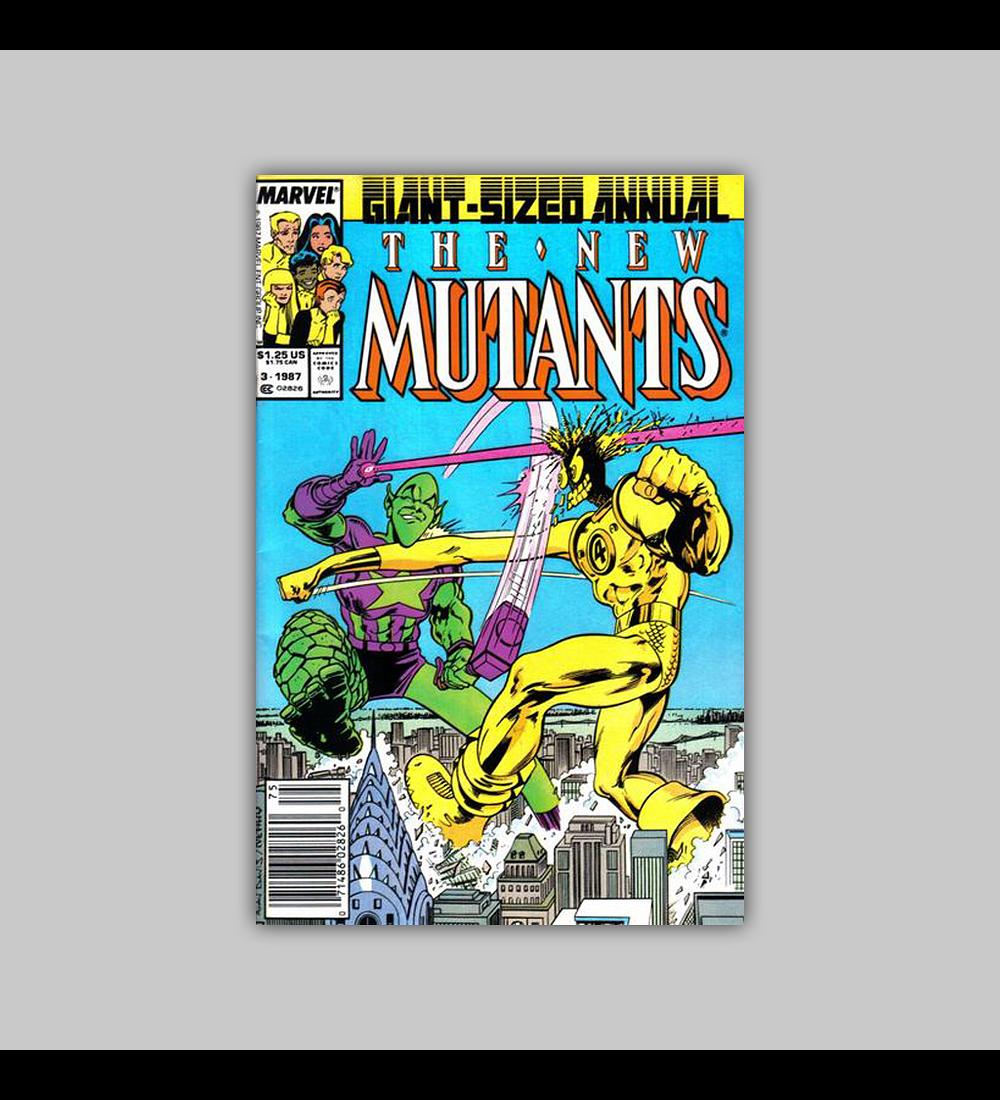 New Mutants Annual 3 1987