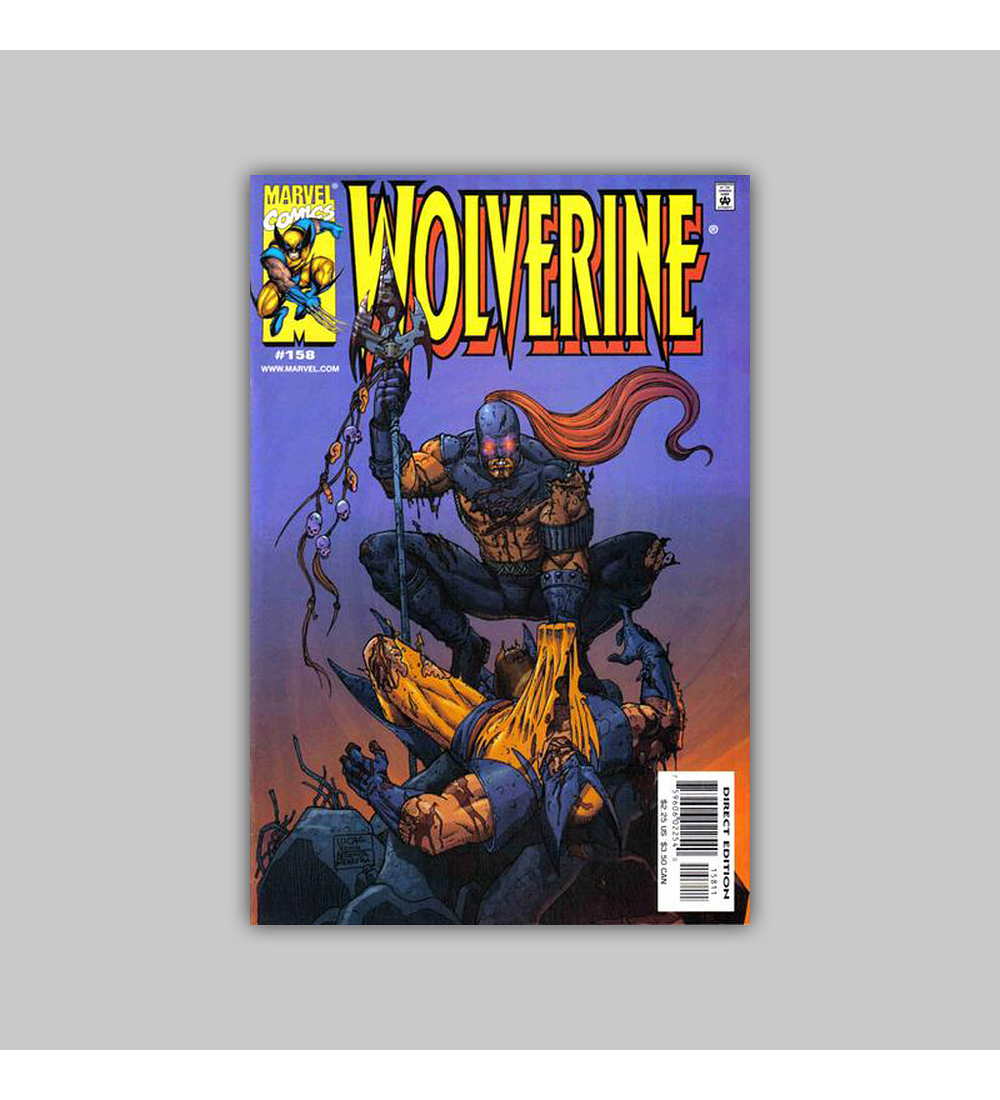 Wolverine 158 Polybagged 2001