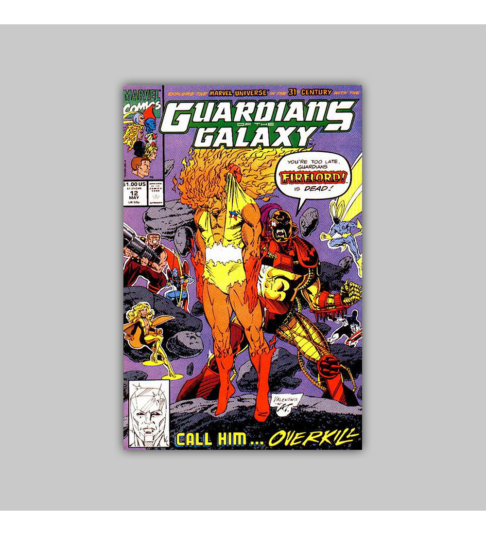 Guardians of the Galaxy 12 1991
