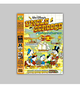 Uncle Scrooge Adventures in Color 1 1997