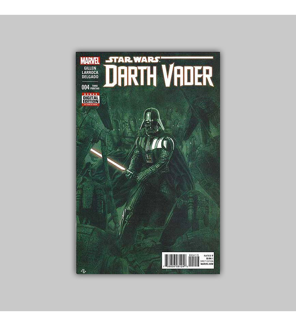 Star Wars: Darth Vader 4 Third printing 2015