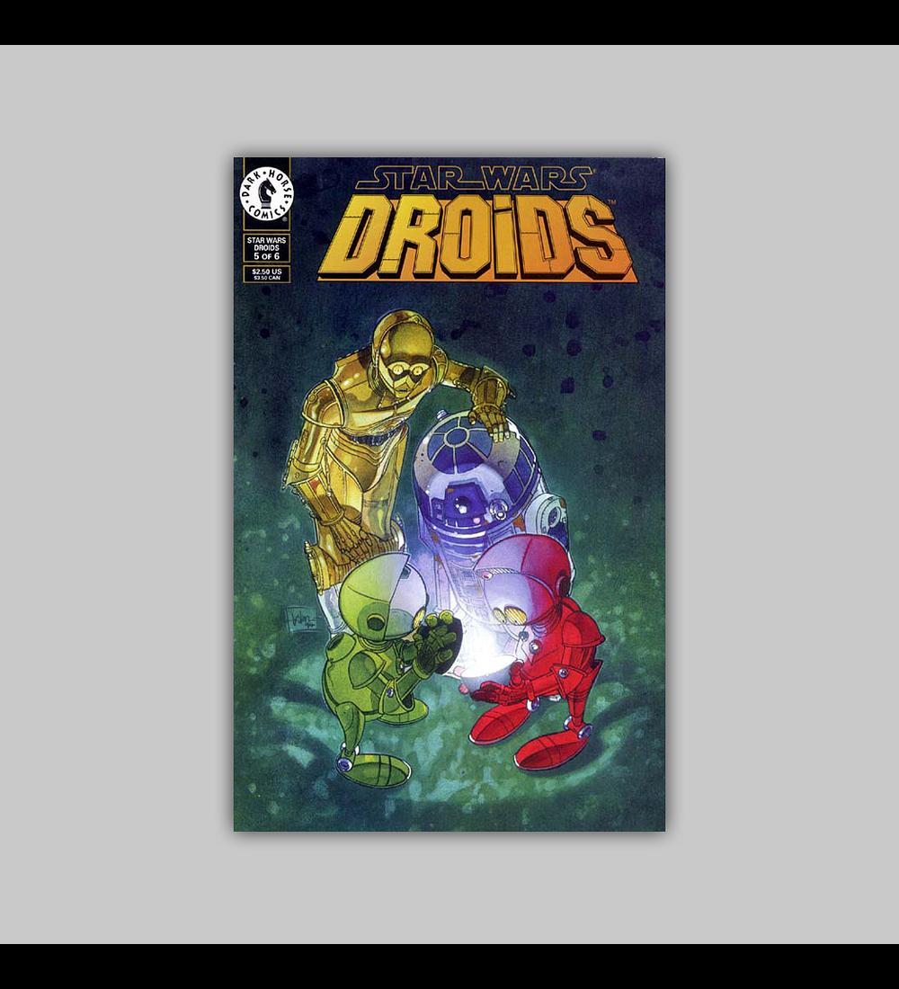 Star Wars: Droids 5 VF (8.0) 1994