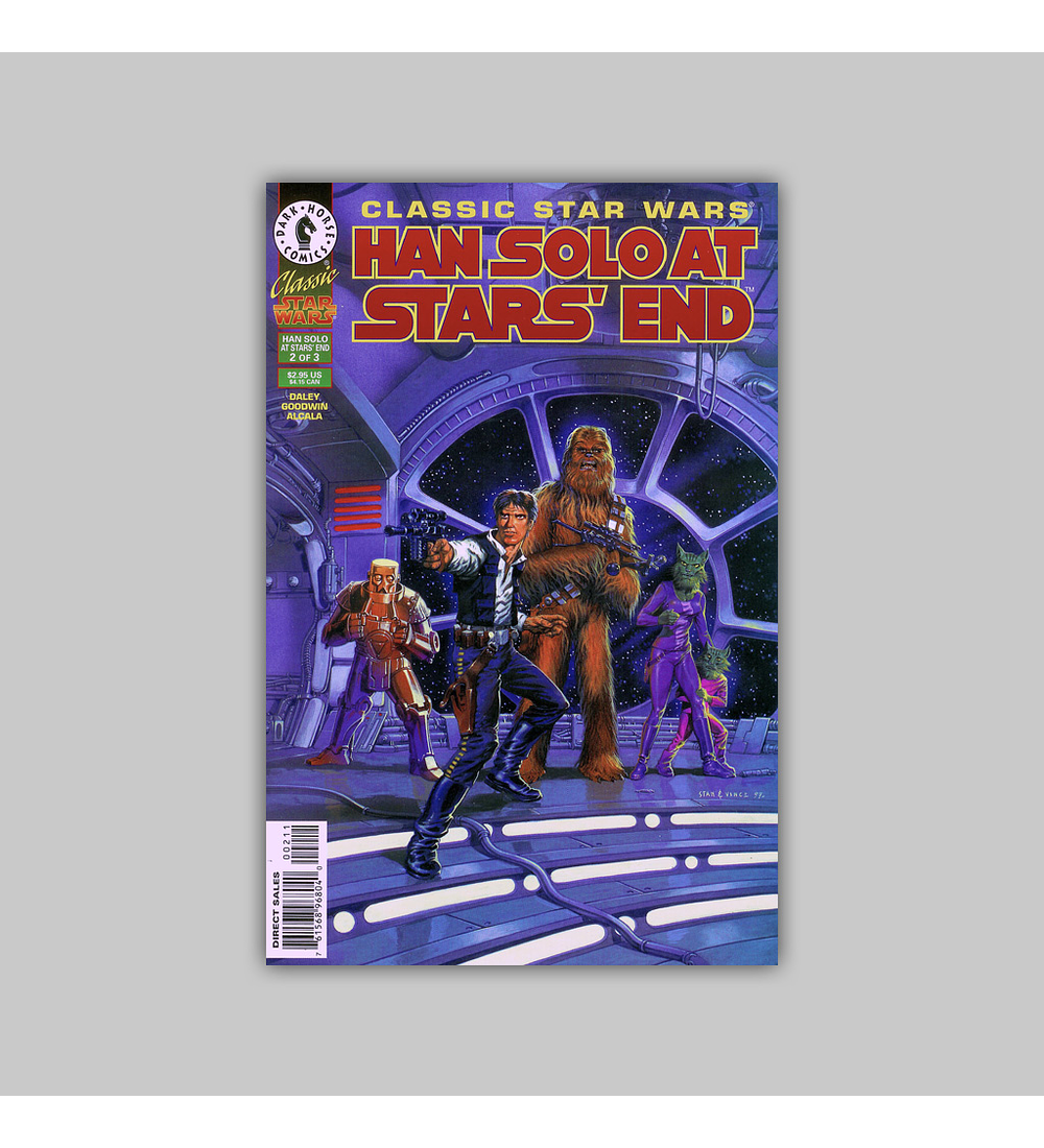Classic Star Wars: Han Solo at Stars' End 2 1997