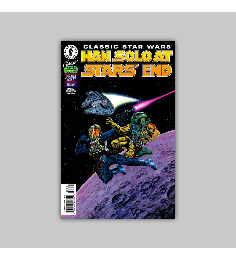 Classic Star Wars: Han Solo at Stars' End 3 1997