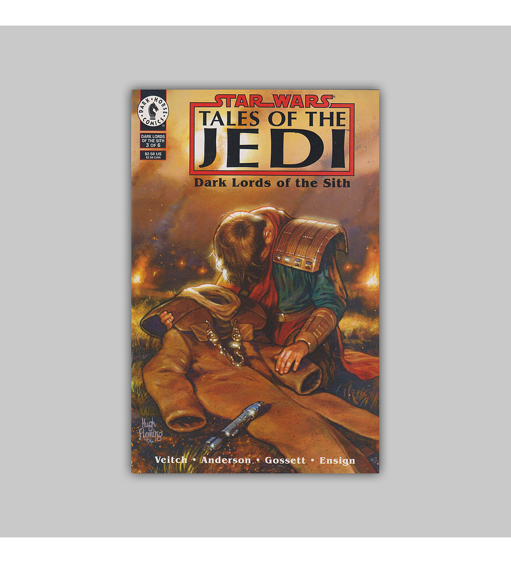 Star Wars: Tales of the Jedi - Dark Lords of the Sith 3 1994