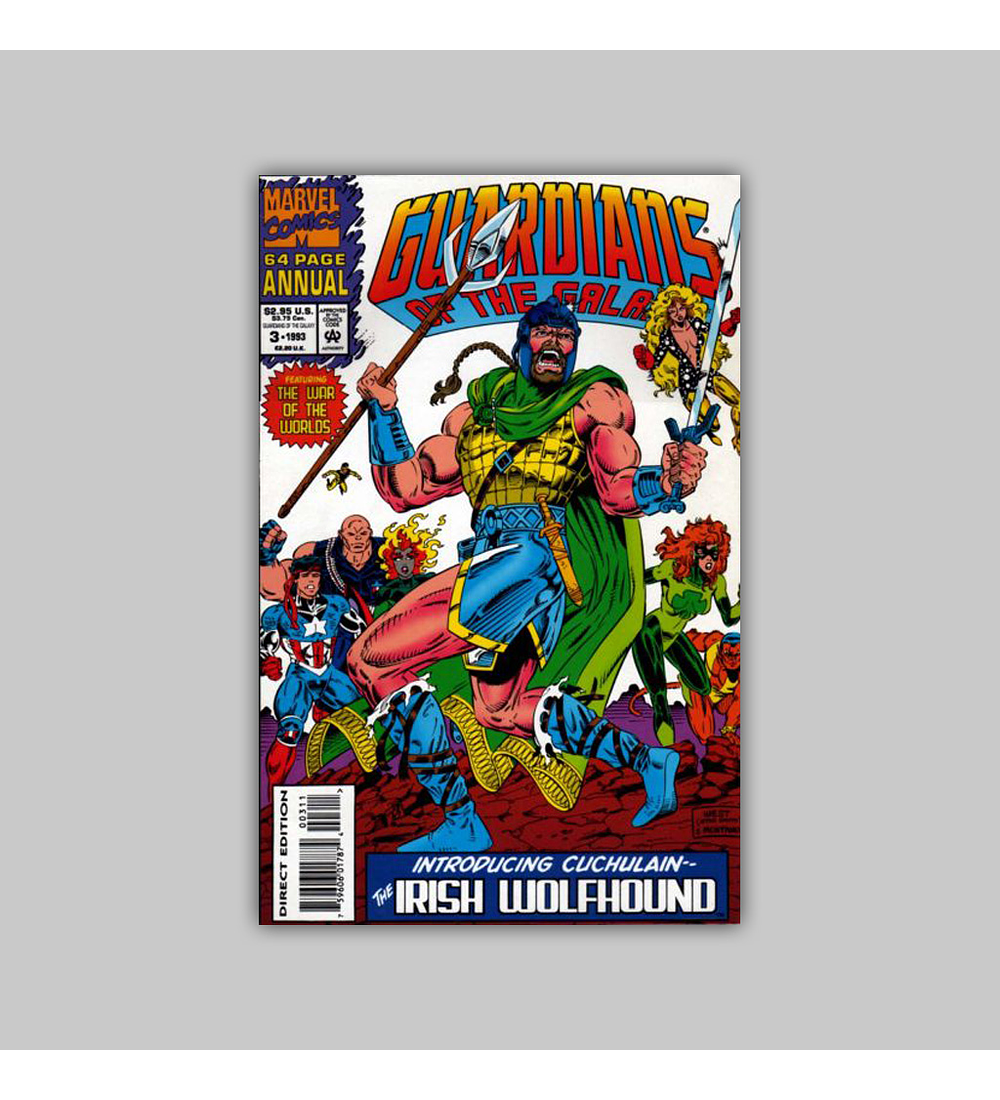 Guardians of the Galaxy Annual 3 1993
