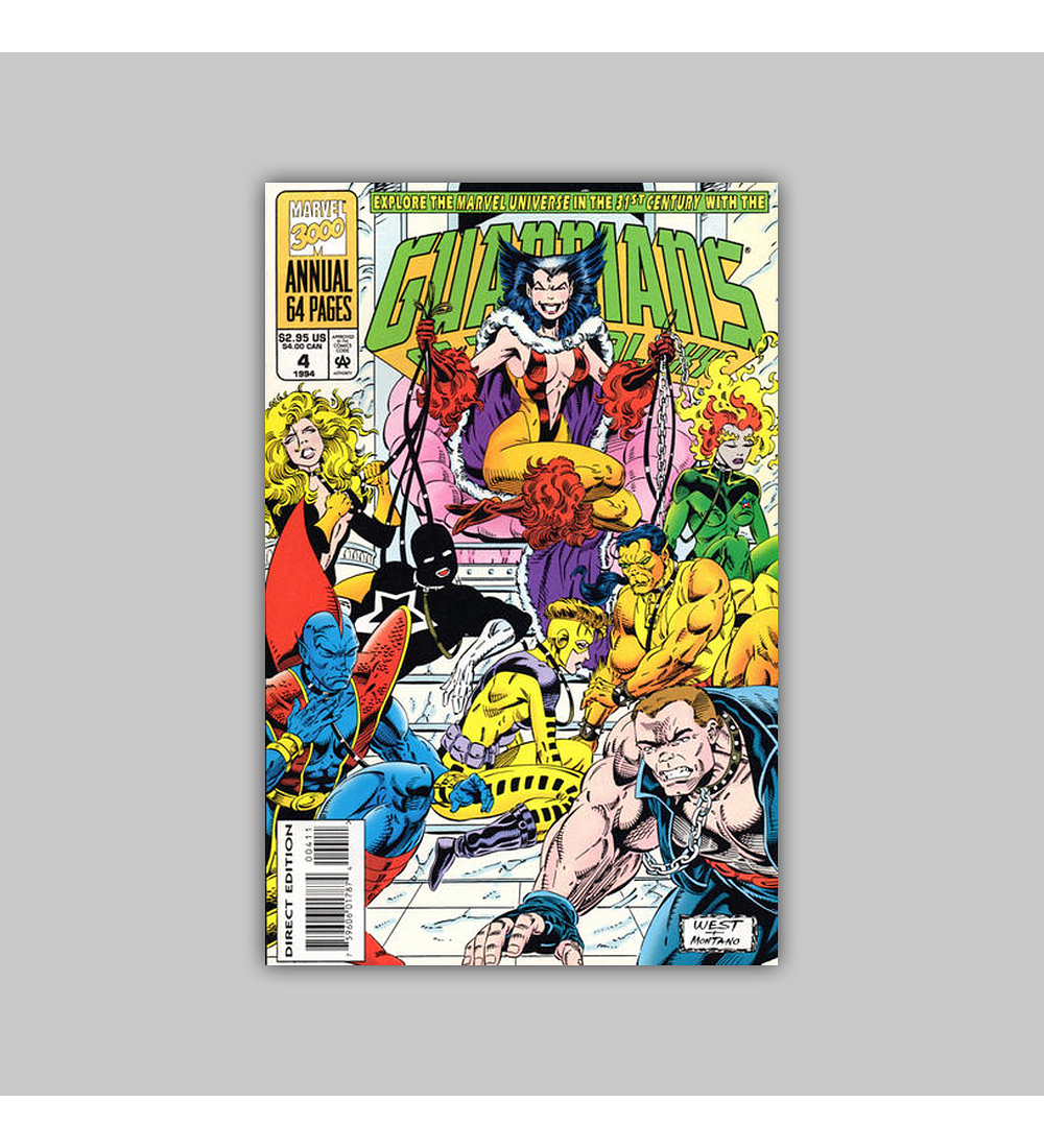 Guardians of the Galaxy Annual 4 1994