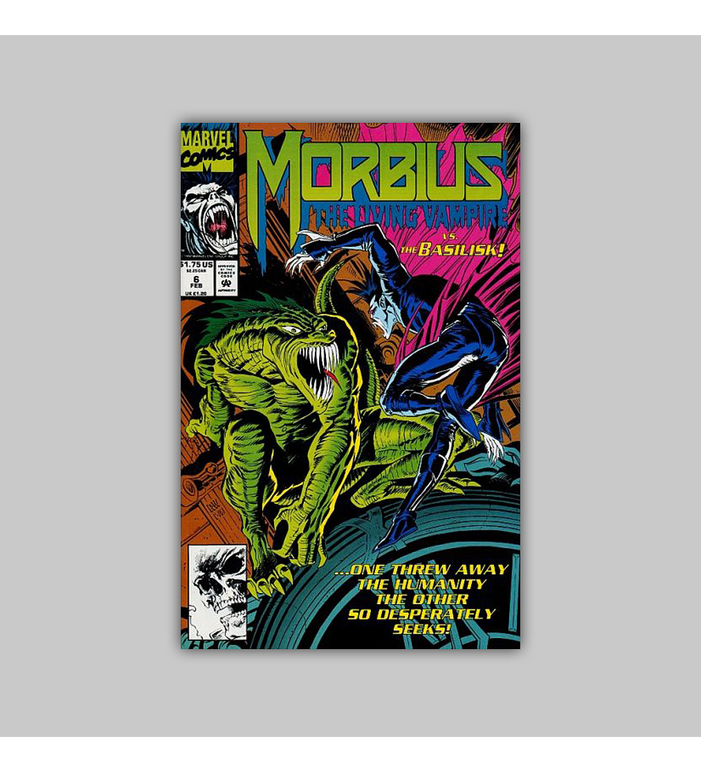 Morbius: The Living Vampire 6 1993
