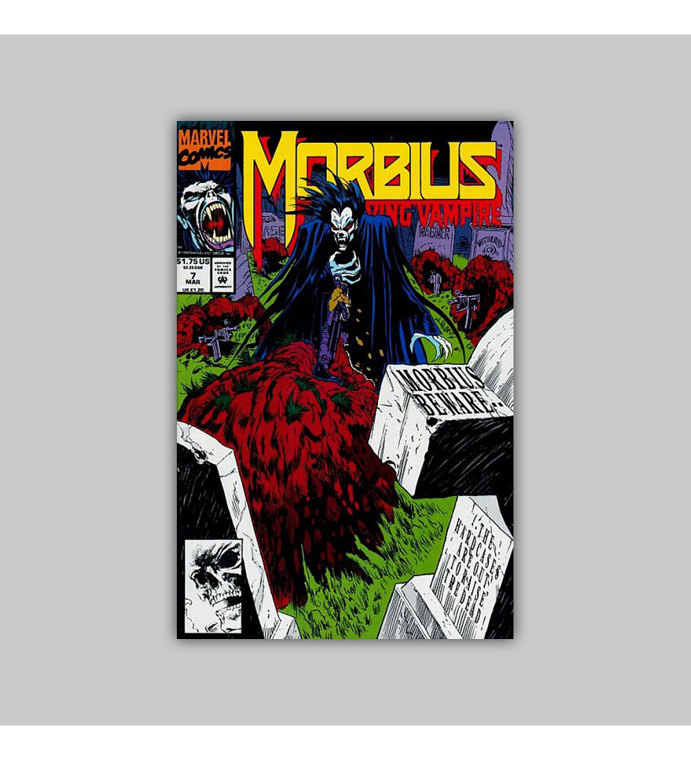 Morbius: The Living Vampire 7 1993