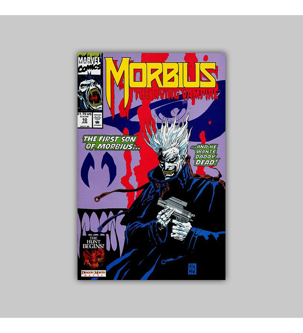 Morbius: The Living Vampire 10 1993