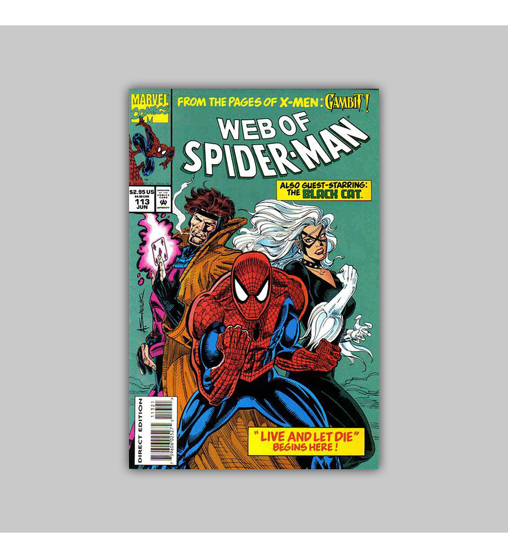 Web of Spider-Man 113 1994