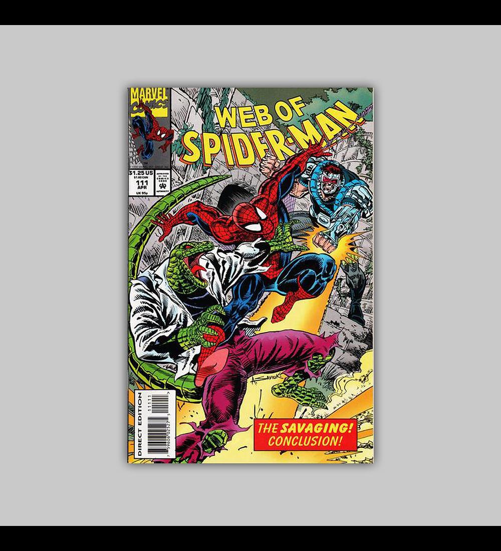 Web of Spider-Man 111 1994