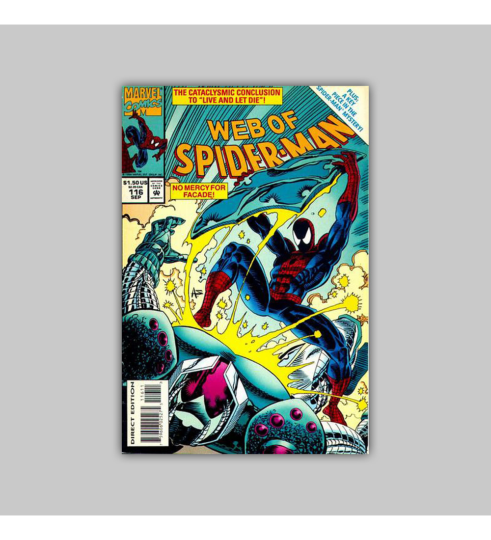 Web of Spider-Man 116 1994