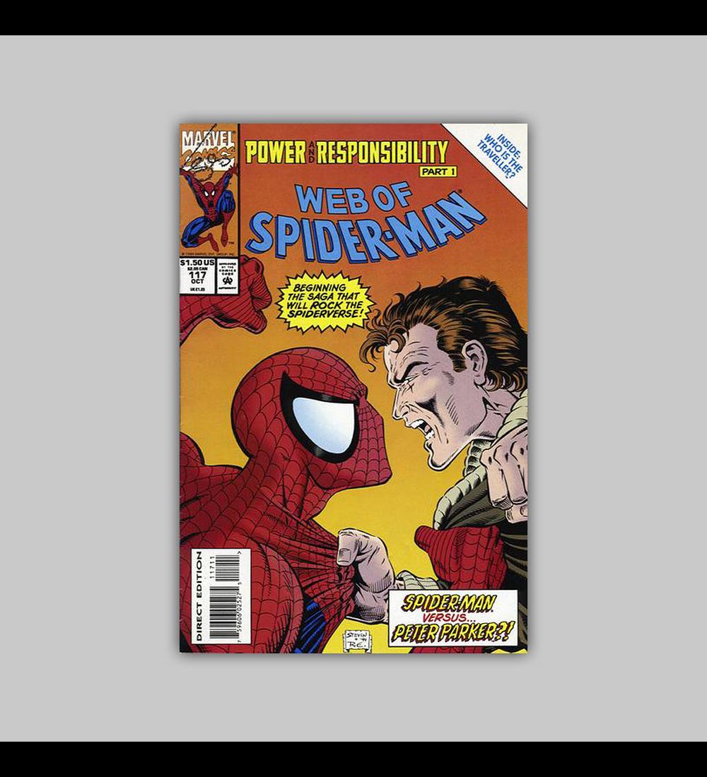 Web of Spider-Man 117 1994