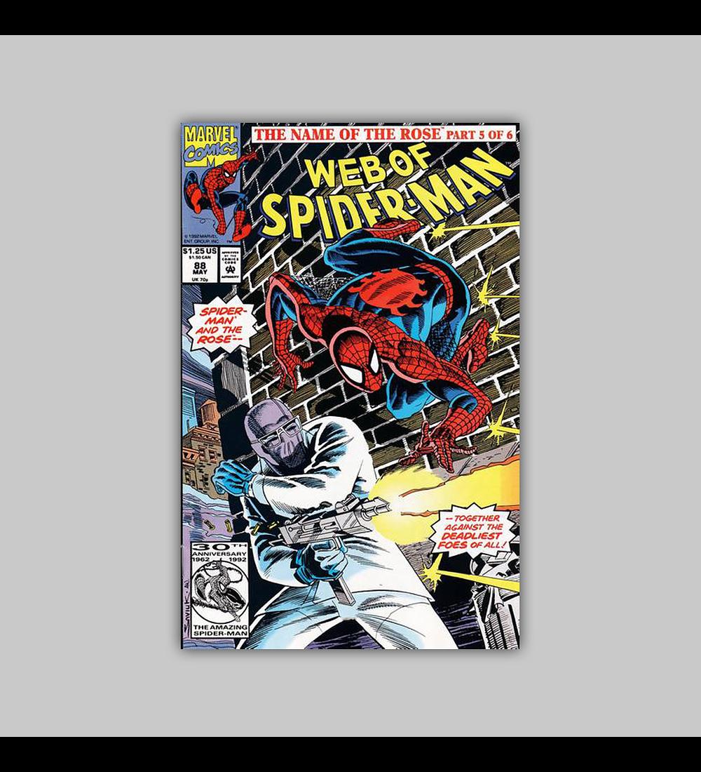 Web of Spider-Man 88 1992