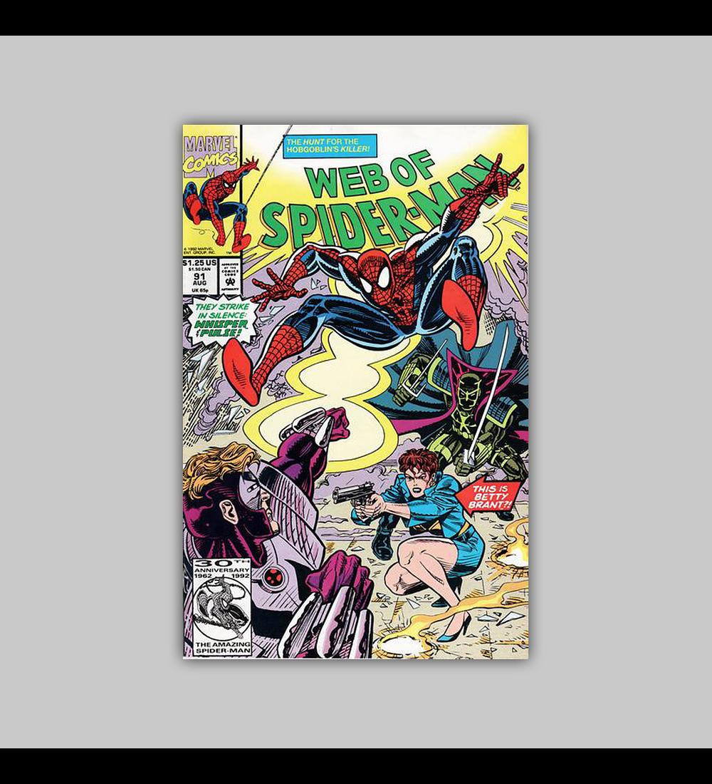 Web of Spider-Man 91 1992