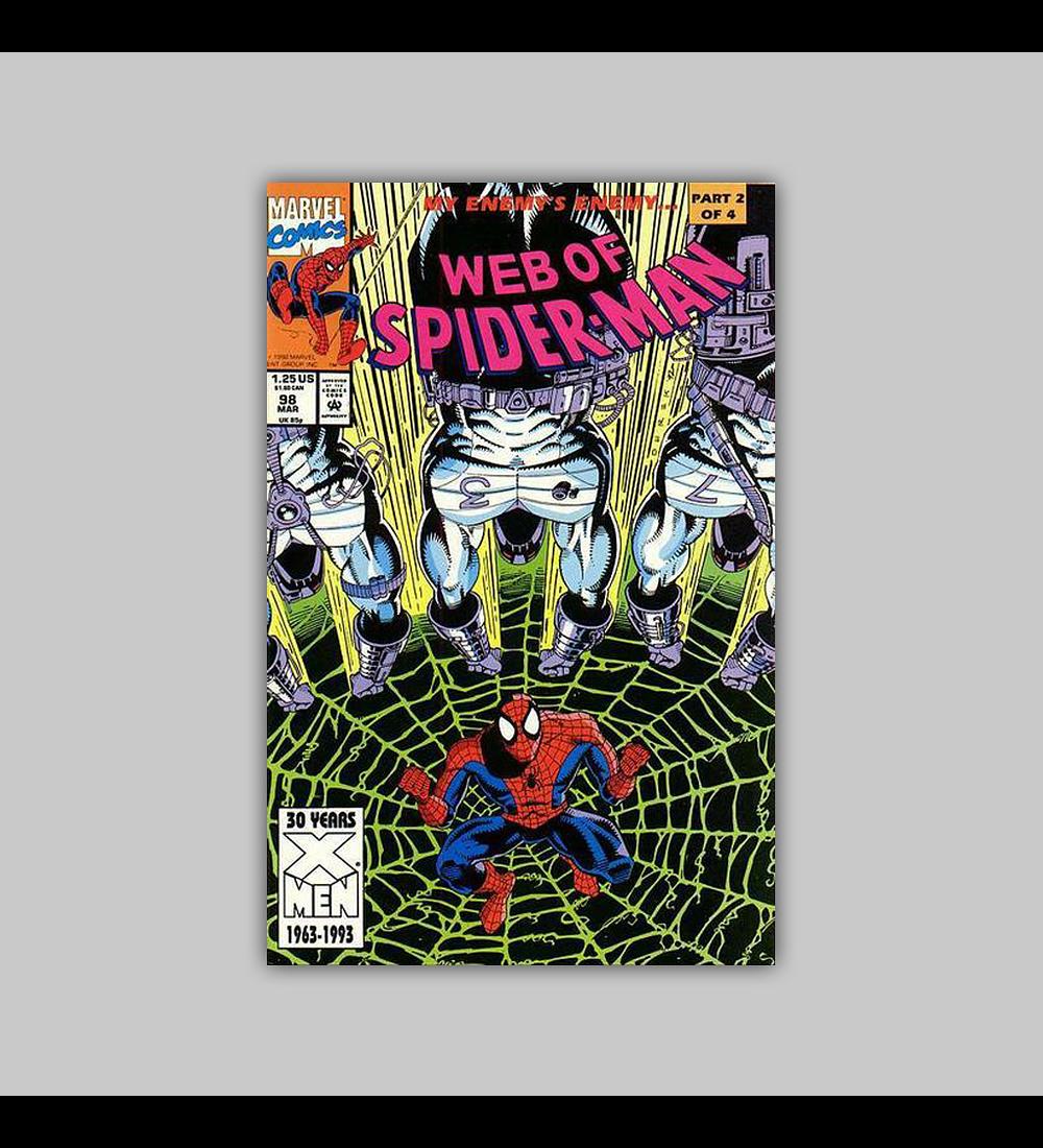 Web of Spider-Man 98 1993