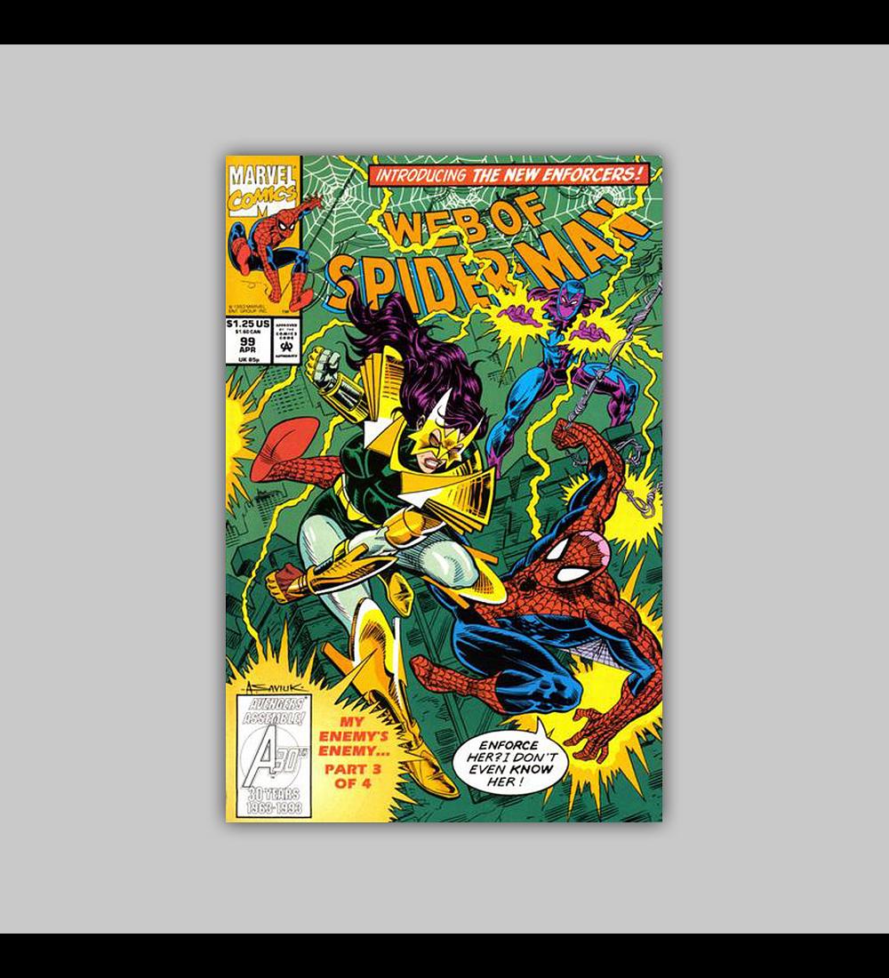 Web of Spider-Man 99 1993