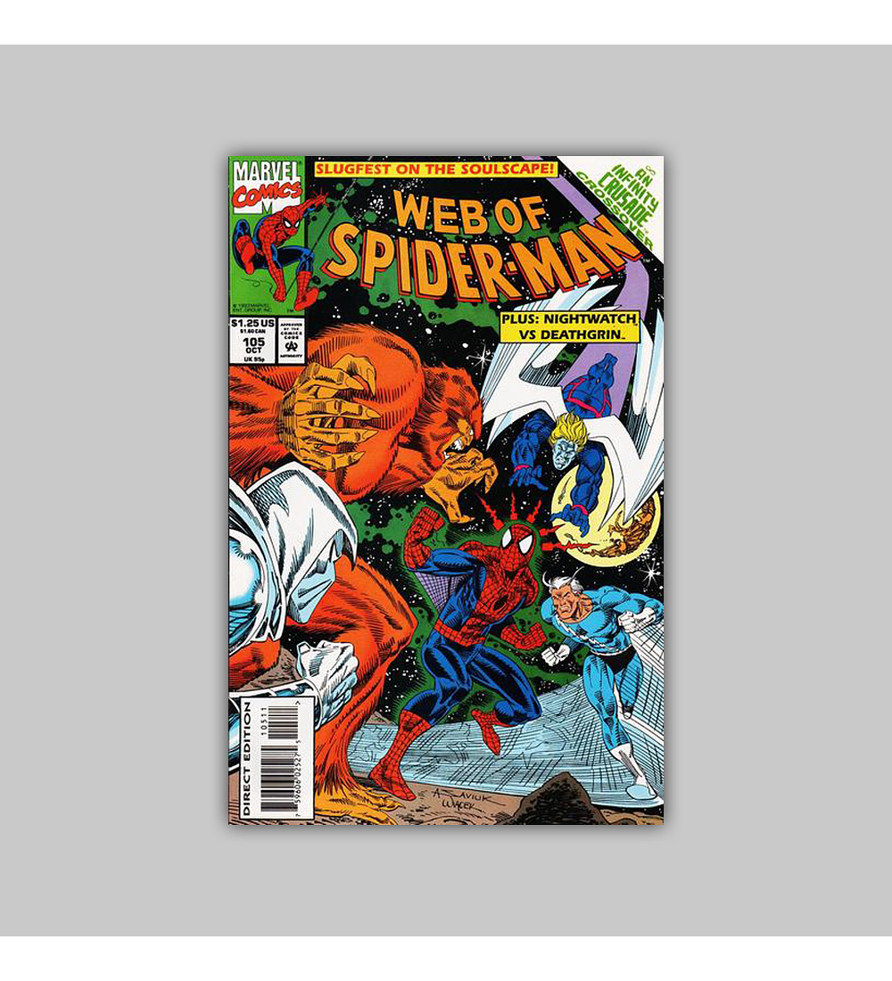 Web of Spider-Man 105 1993