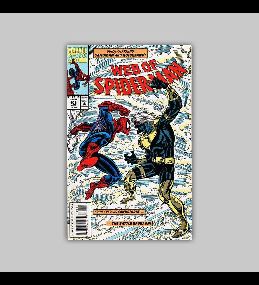 Web of Spider-Man 108 1994