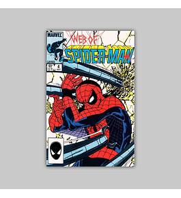 Web of Spider-Man 4 1985
