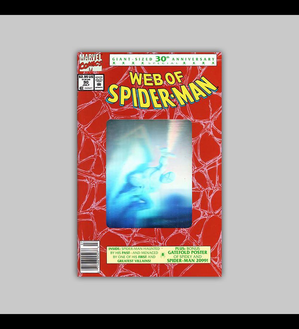 Web of Spider-Man 90 Hologram 1992