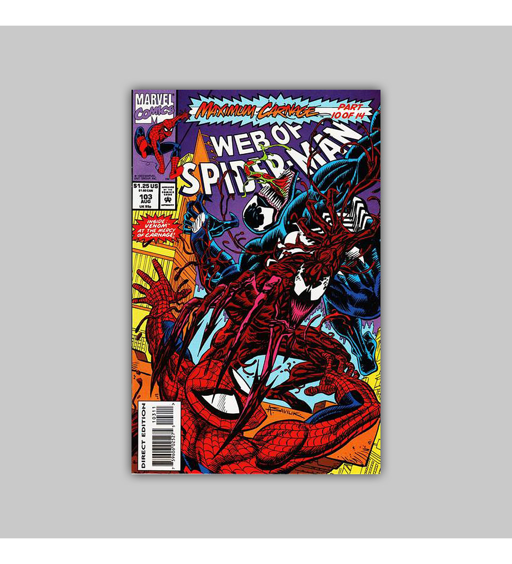 Web of Spider-Man 103 1993