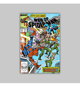 Web of Spider-Man 44 1988