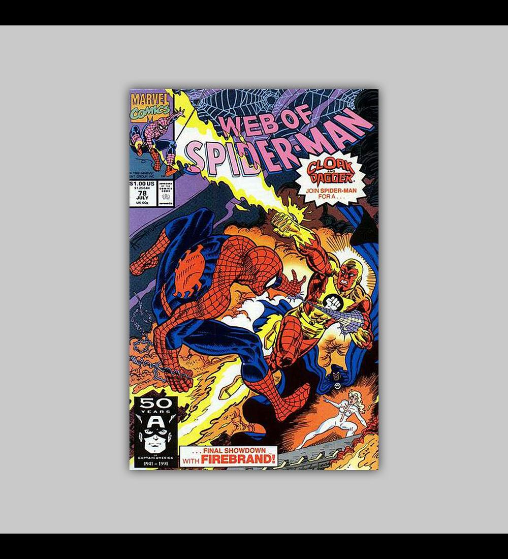 Web of Spider-Man 78 1991