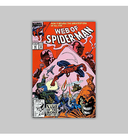 Web of Spider-Man 84 1992