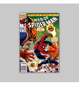 Web of Spider-Man 86 1992