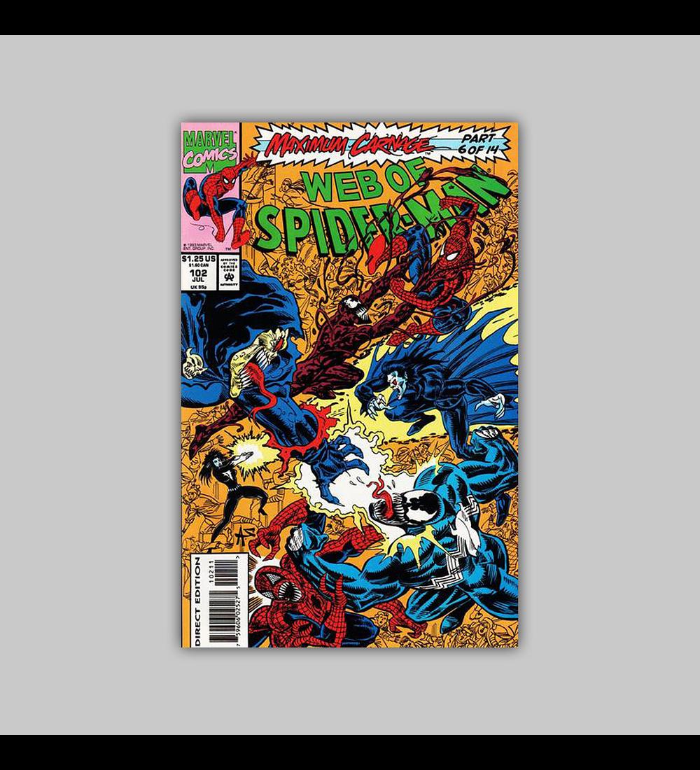 Web of Spider-Man 102 1993