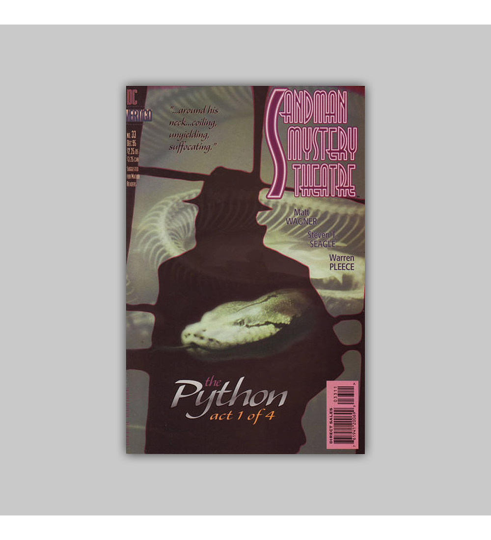 Sandman Mystery Theatre 33 1995