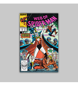Web of Spider-Man 46 1989