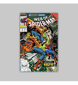 Web of Spider-Man 48 1989