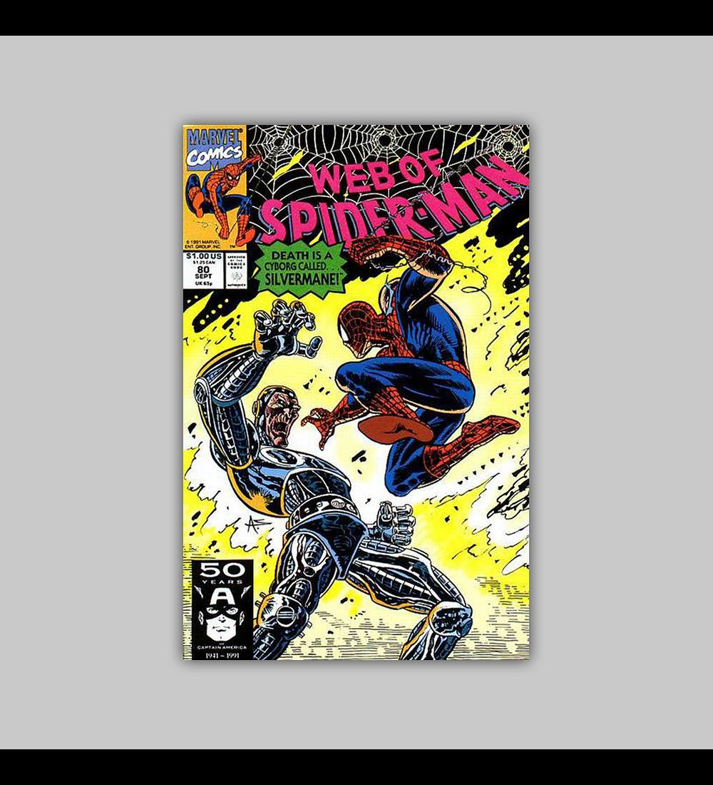 Web of Spider-Man 80 1991