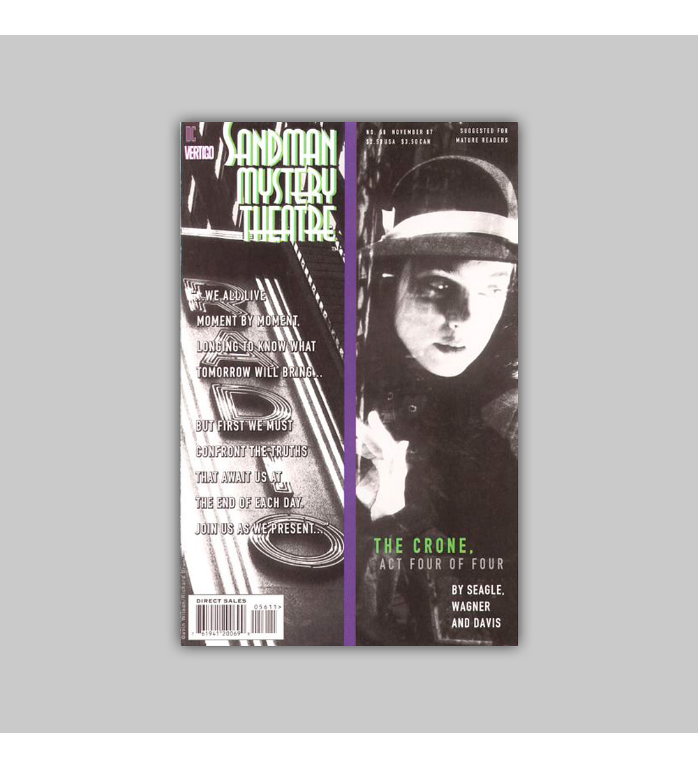 Sandman Mystery Theatre 56 1997