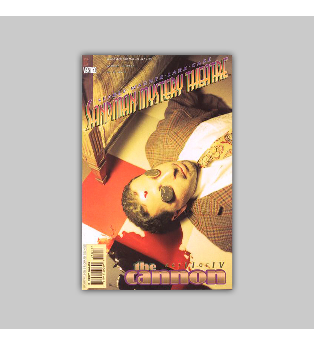 Sandman Mystery Theatre 58 1998