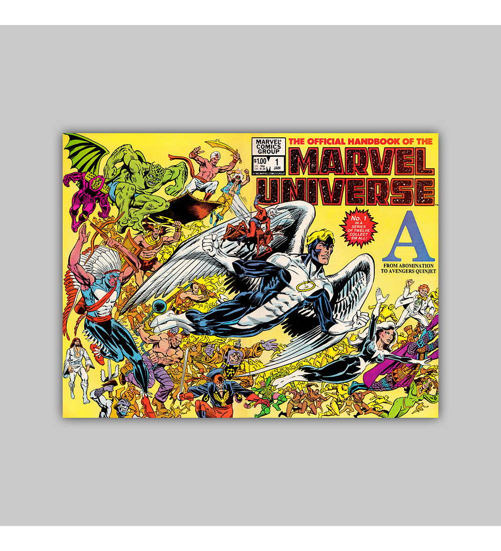 The Official Handbook of the Marvel Universe 1 1983
