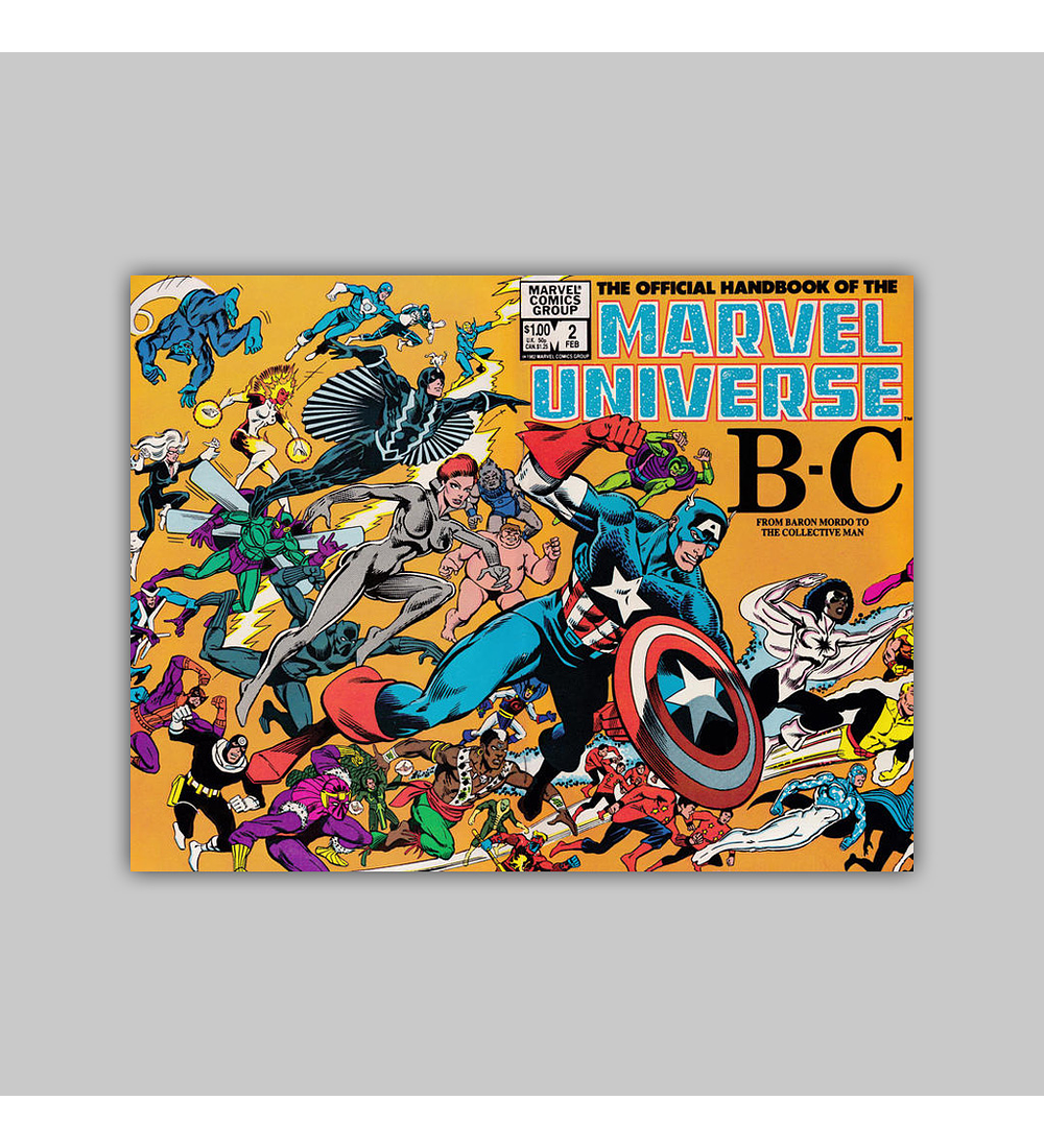 The Official Handbook of the Marvel Universe 2 1983