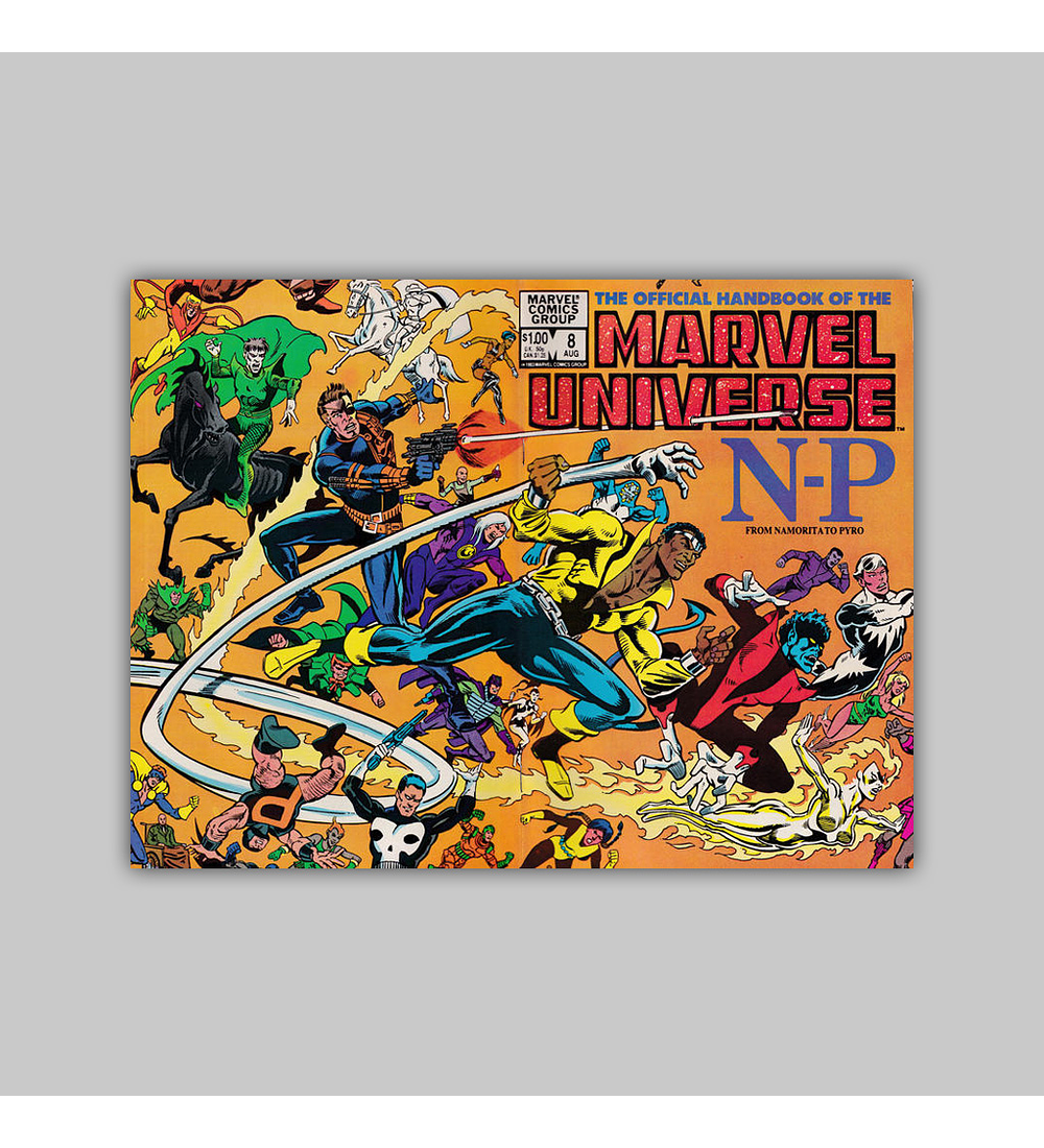 The Official Handbook of the Marvel Universe 8 1983