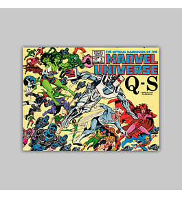 The Official Handbook of the Marvel Universe 9 1983