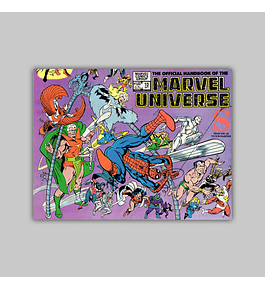 The Official Handbook of the Marvel Universe 10 1983