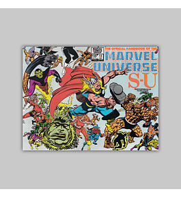 The Official Handbook of the Marvel Universe 11 1983