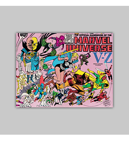 The Official Handbook of the Marvel Universe 12 1983