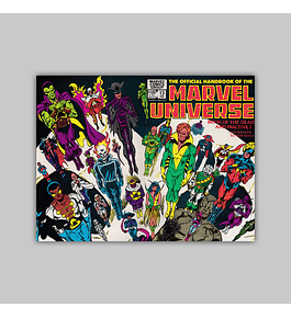 The Official Handbook of the Marvel Universe 13 1984