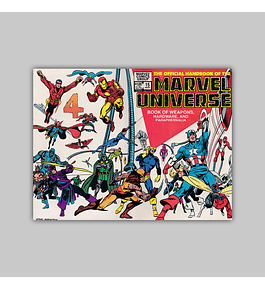 The Official Handbook of the Marvel Universe 15 1984